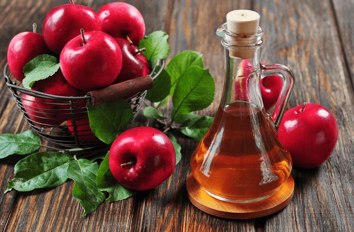 از بین بردن بوی بد دهان با سرکه سیب